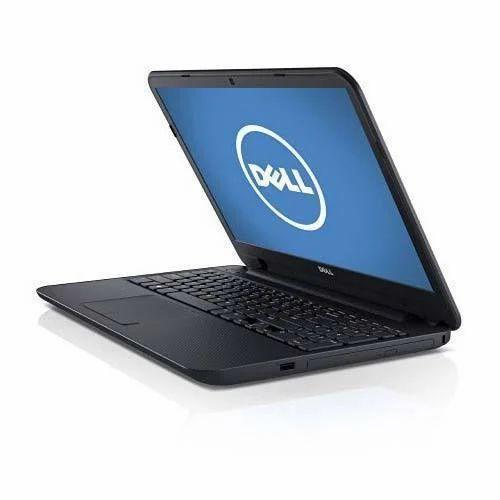 Black Dell Office Laptop