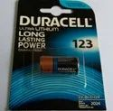 Duracell CR 123 Lithium Battery