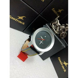 Mens Round Dial Shape Watch