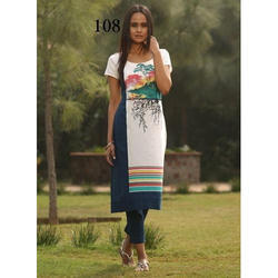 Half Sleeve Party Wear Kurti