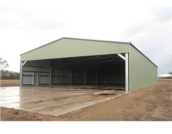 Blue Industrial Roofing Sheet Industrial Sheds