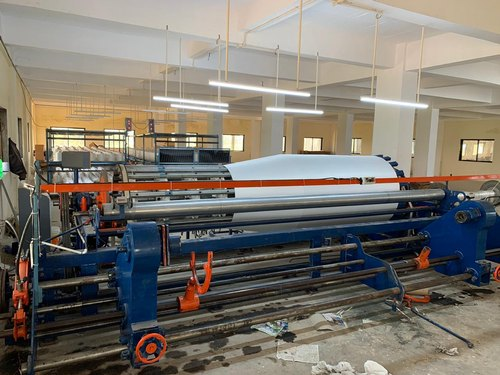 Sectional Warping Machine For Rapier Looms And Water Jet