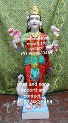 Hinglaj Mata Marble Statue