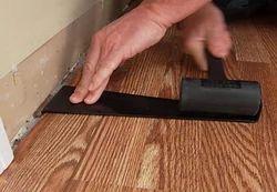 Elastic Natural Laminated Wooden Flooring Services