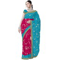 Marvellous Ethnic Chiffon Saree 178