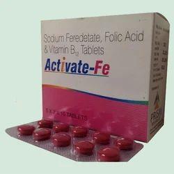 Sodium Feredetate, Folic Acid & Vitamin B Tablet