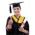 Unisex Graduation Gown  Cap Tassel Set
