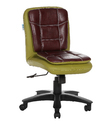 Workstation Green and Maroon Chair (The Libranejar Lb)