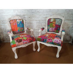 Patch Work Sofa Chairs