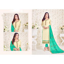 Embroidery Full Sleeves Unstiched Suit