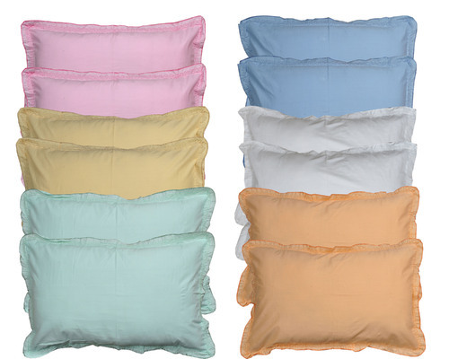 JBG Home Store Set Of 40 Decent Plain Pillow Covers At Rs 40 Extraordinary Protective Pillow Covers