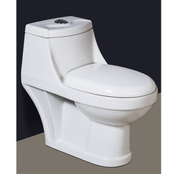 P And S Closed Front Single Piece Water Closet, For ONE PIC