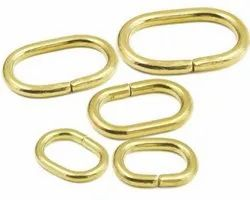 Silver And Golden Bags And Shoes Oval Loop, Packaging Type: Packet, For Bag And Shoed