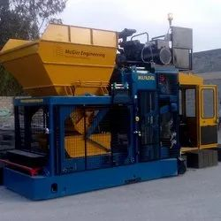 Mobile Concrete Block Making Machine