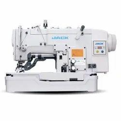 Jack Cast Iron JK-T781E-Q Button Holing Lockstitch Machine, Dpx5 12, Automation Grade: Semi-Automatic