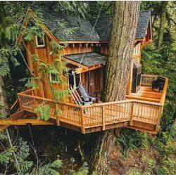 Wooden Tree Shingles