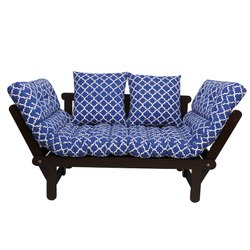 Arra Beat Futon with Mattress - Damask