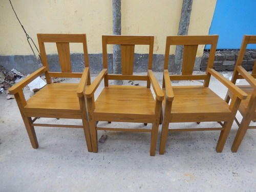 Wooden Chair With Arm, Armed Wooden Chair, Arm Chair , Chair With Arm