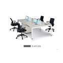 4 Seater Modular Office Workstation