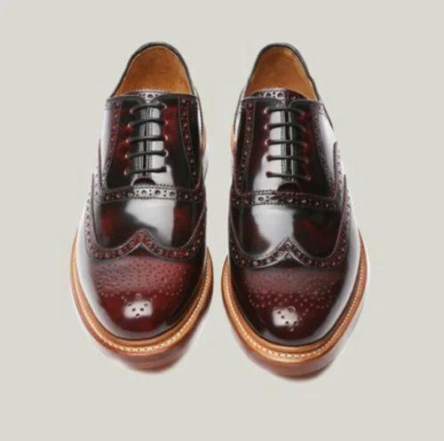 Men's Burgundy Colour Formal Shoes