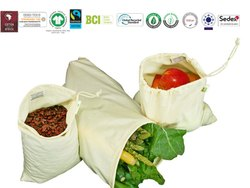 Grs Recycle Cotton Produce Bag