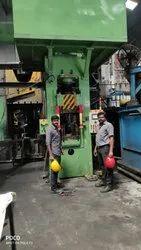 100 Ton Hydraulic Forging Press, Automation Grade: Automatic