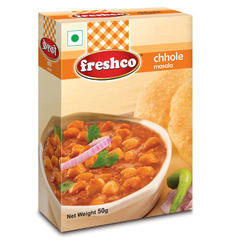 Freshco 50 g Chhole Masala, Packaging: Box