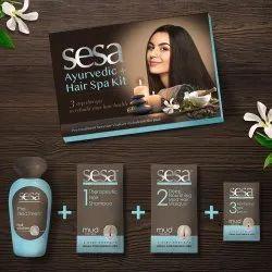Sesa Ayurvedic Plus Hair Spa Kit  Smooth & Silky Hair Promotes Hair Growth