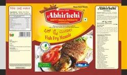 Fish Fry Masala Powder Pouch