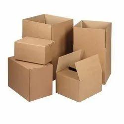 Brown Industrial Carton Box
