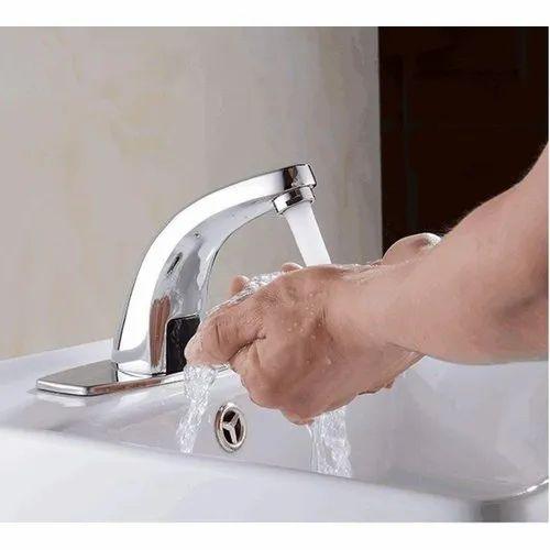 CHROME PLATED Brass Automatic Sensor Water Tap, Rs 3200 /unit Burhani  Bathfitt & Hardware | ID: 22334174091