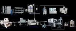 Automatic miniral water bottling plant