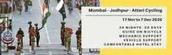 20 Days Mumbai - Jodhpur - Attari / Wagah Cycling