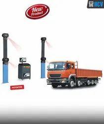 Semi-Automatic Manatec 3D Truck Alignment Multi Axle, 250V