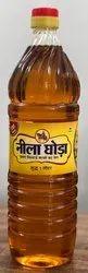 Musturd Oil Nila Ghoda Packing, Packaging Size: 1 litre