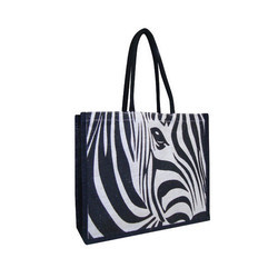 Printed Promotional Jute Tote Bag