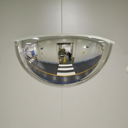 Dome Mirror, For View Of The Vehicle, Size: 26 Inch