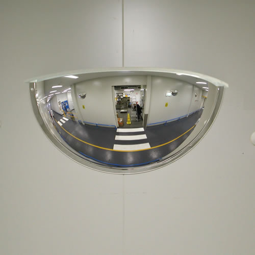 Dome Mirror, For View Of The Vehicle, Size: 26 Inch, Rs 2600 /piece | ID:  6818781473