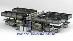 Sugarcane Bagasse Plates Pulp Molding Machine