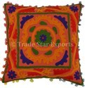 Embroidery Suzani Pillow Cover Art