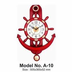 Plastic Designer Pendulum Clock