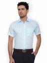 Mens Formal Sky Blue Shirts