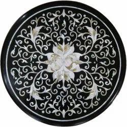Black Marble Unique Table Tops
