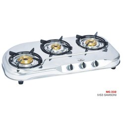 MC-332 Oval Three Burner Stove