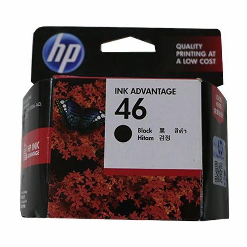 HP 46 Black Ink Cartridge