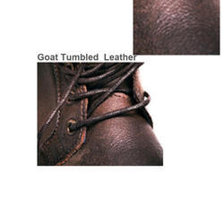 Goat Tumbled Leather