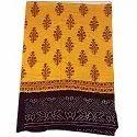 All Over Golden Fancy Design Cotton Bandhani Kurti