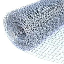 National Wire Polished Mild Steel Welded Mesh, For Industrial