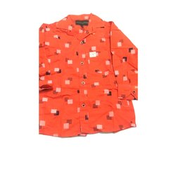 Kids Full Sleeve Printed Cotton Shirt