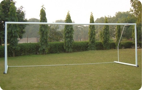 Stag Football Goal Post Aluminum Dx Portable 100mm Fp1 Size 3 X